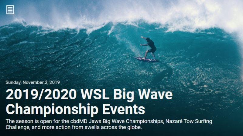 Big Wave Championship Events