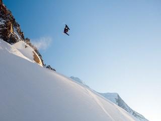 Blake Paul in Chamonix