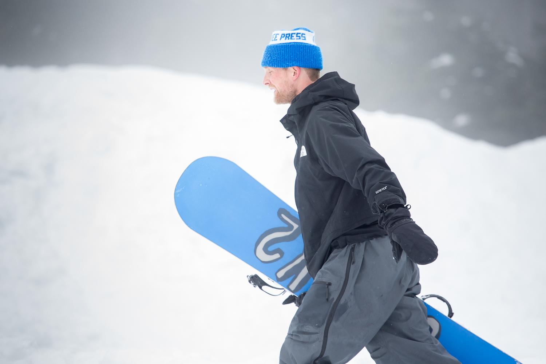 Spinners The Medium Jake Kuzyk K2 Snowboarding Pro Model Snowboard