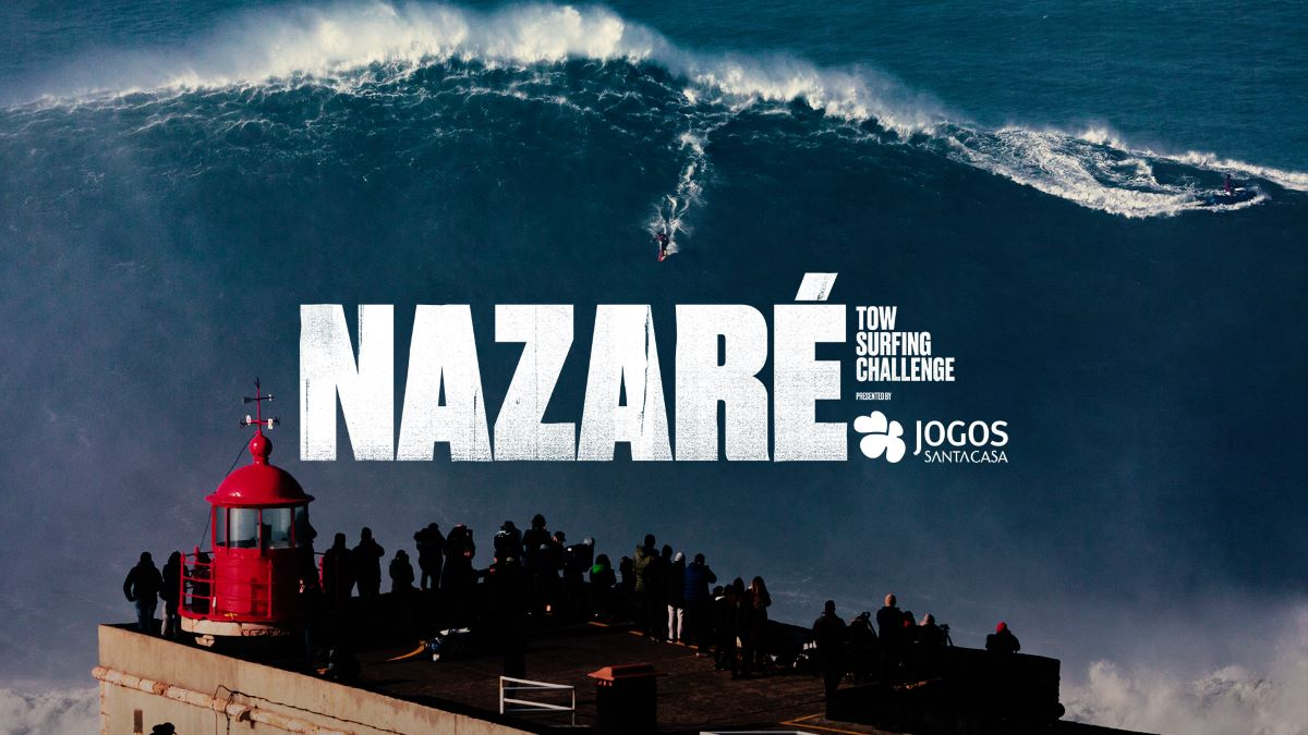 Nazare tow surfing challenge, Hawaii