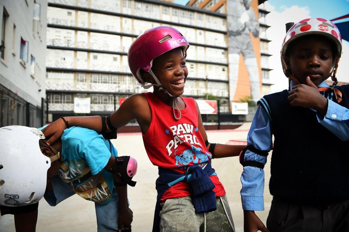 Skateistan Johannesburg Mar 2018