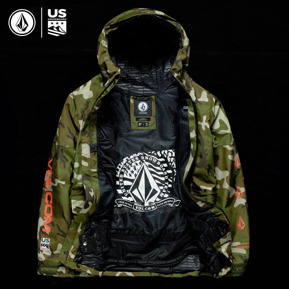 US Snowboard Mens Team Gore Tex Jacket