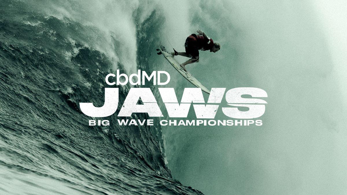 cbdMD jaws big wave challenge