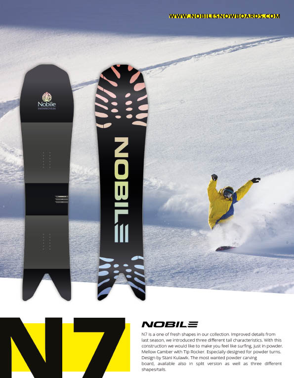 100 Nobile snowboards
