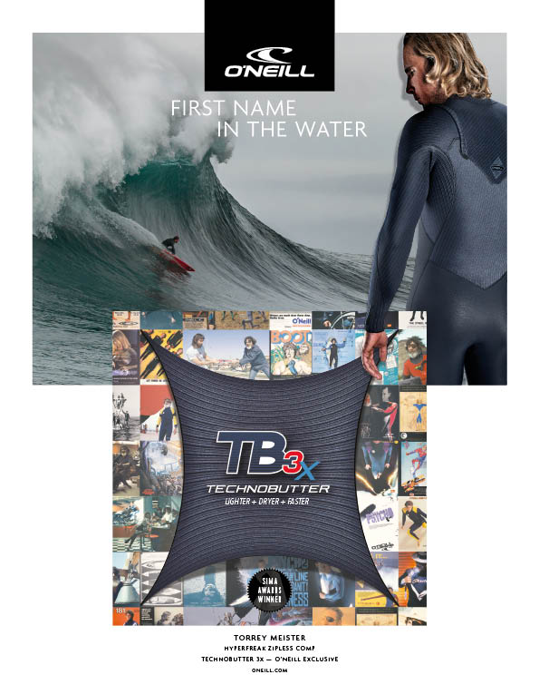 100 O'Neill wetsuits