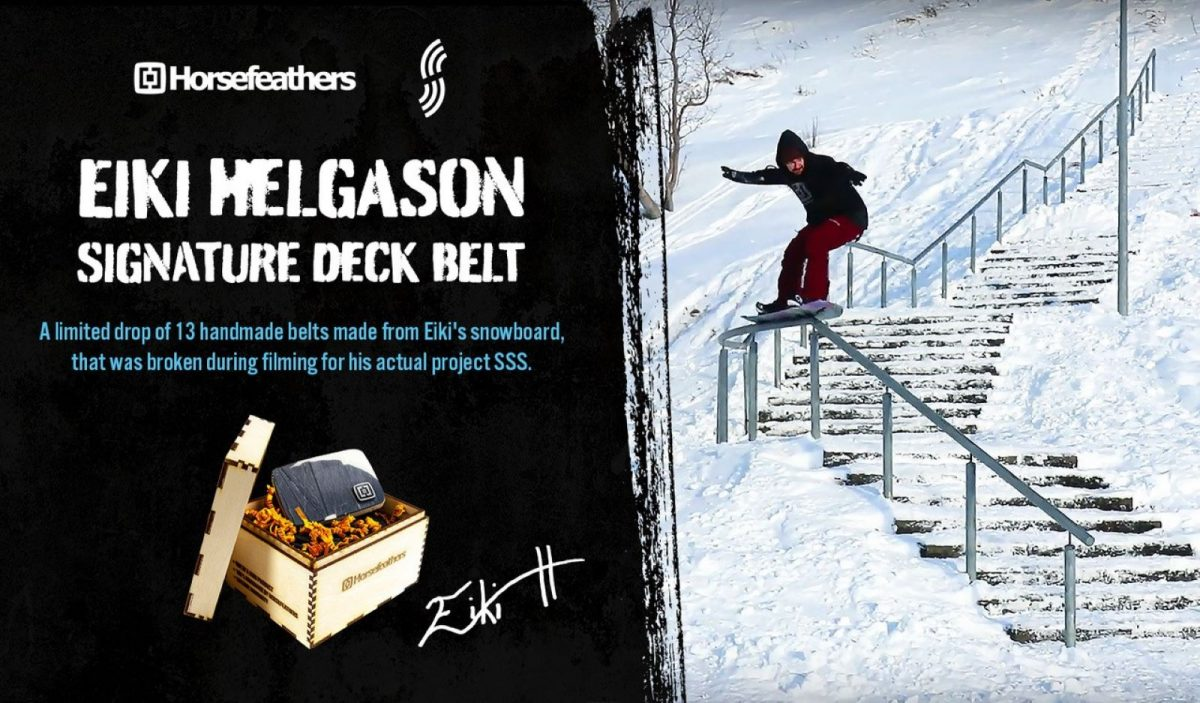 Eiki Helgason Signature Deck Belt
