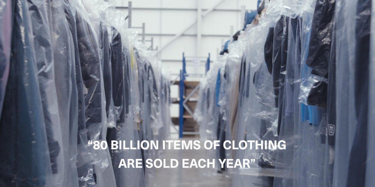 80 billion items of clothing