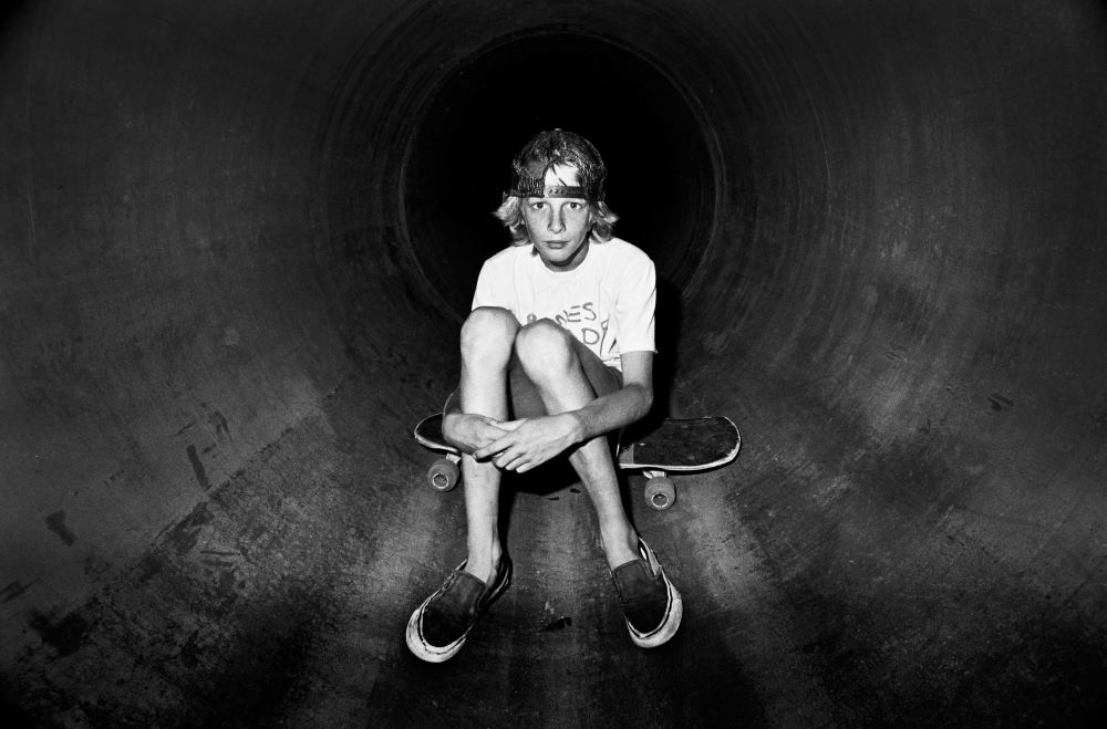 A young Tony Hawk, 1983 by Grant Brittain