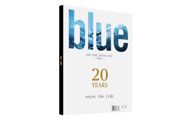 20th ed Blue yearbook