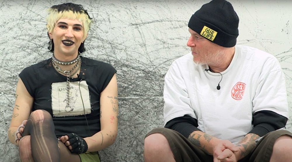 Cher Strauberry and Jeff Grosso