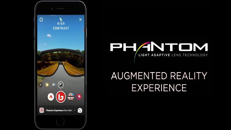 Phantom lens AR technology