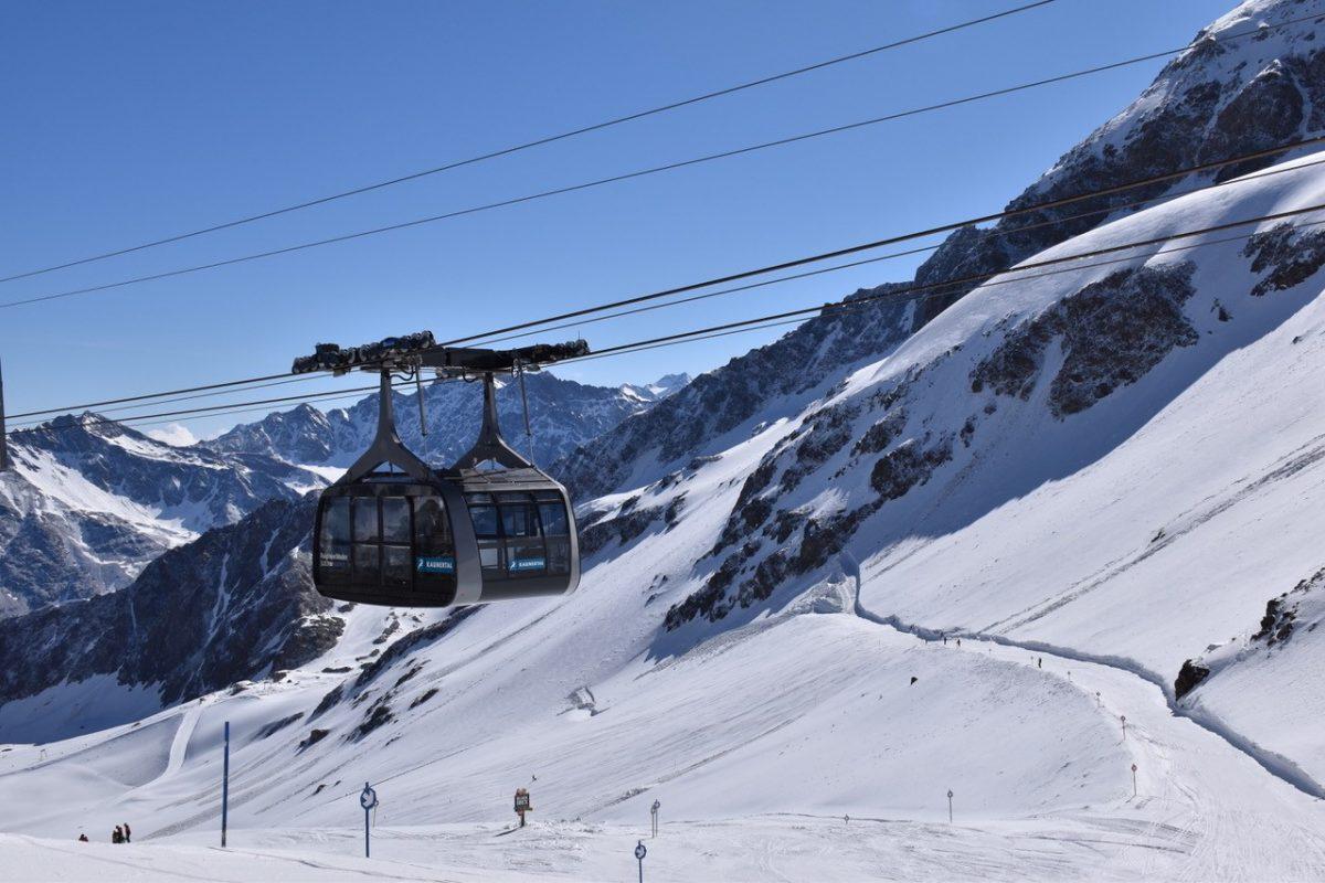 Ski Lift @ Kaunertal Pop Up Park