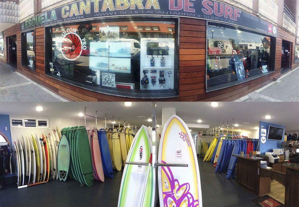Escuela Cantabra de Surf, Spain