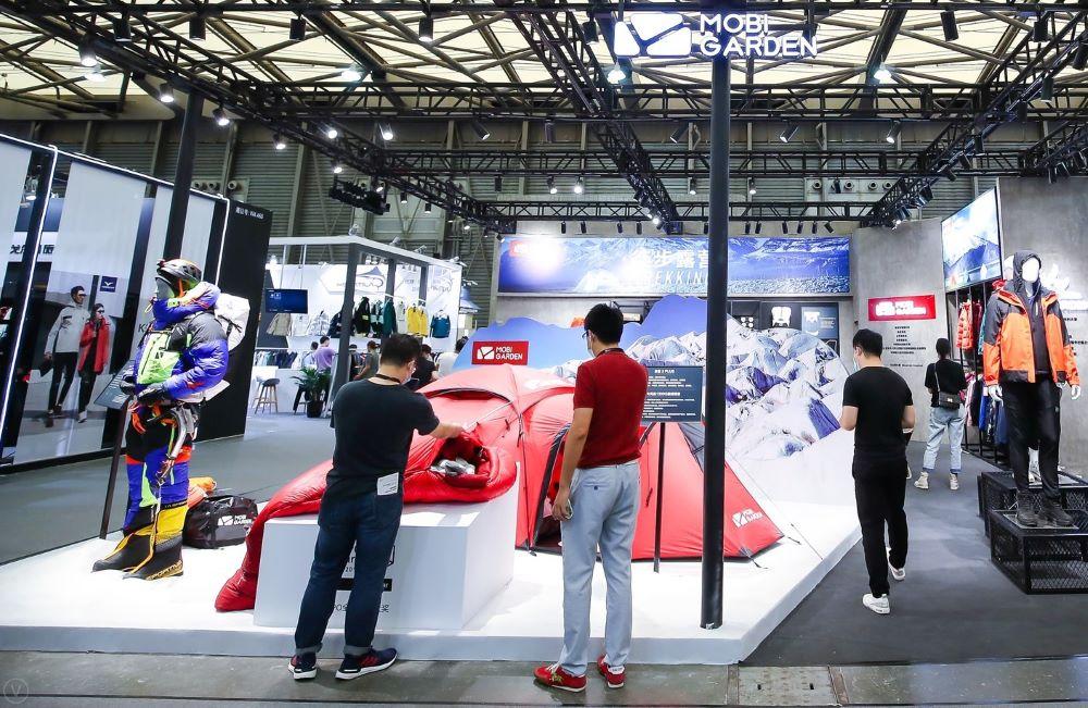 ISPO Shanghai sets an important symbol for restart. Image credit- Messe München