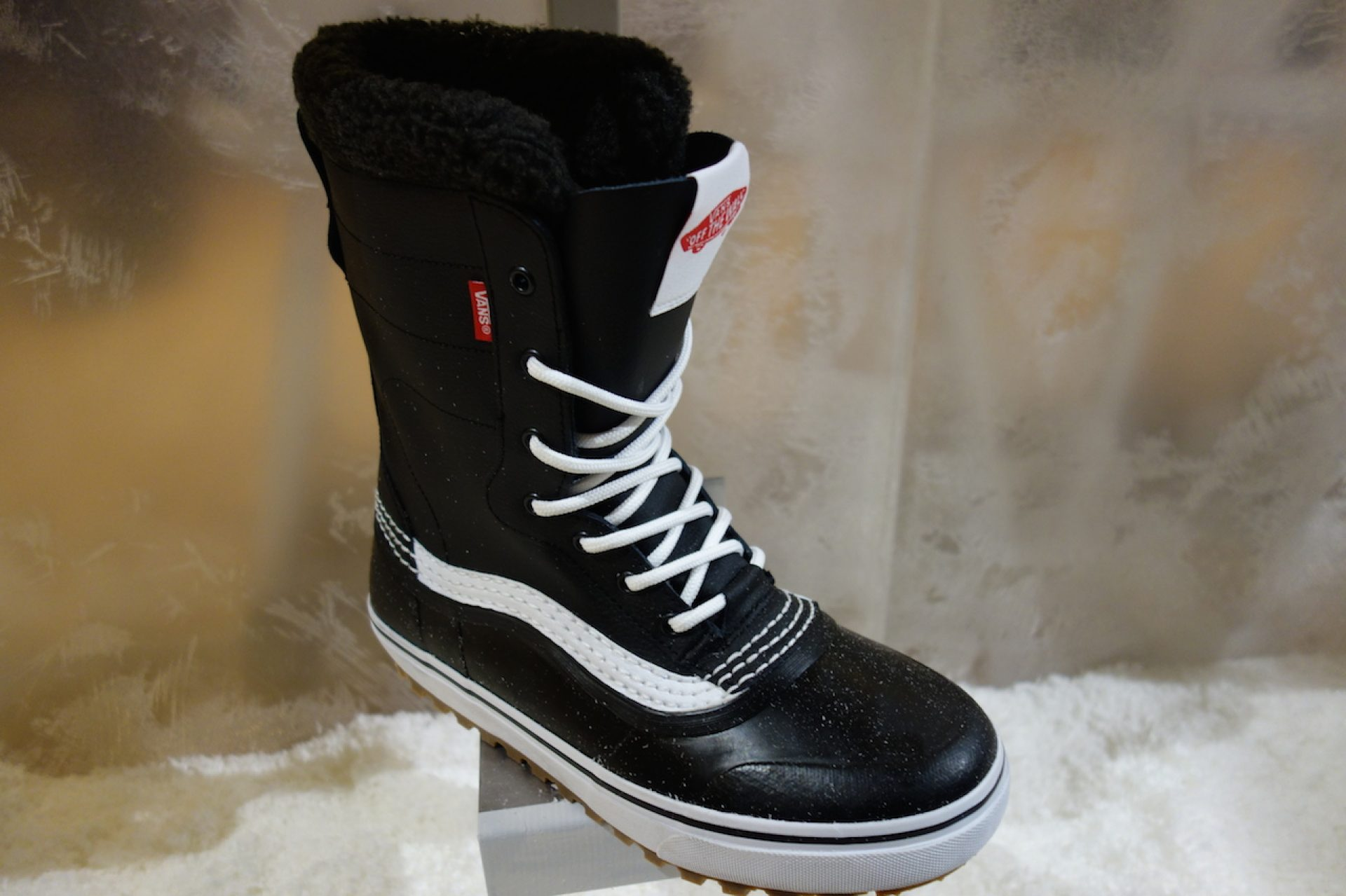 570f821142d Vans all-new Standard boot - released in USA this winter and has been a BIG  hit. Made for getting round town when it s cold and snowy