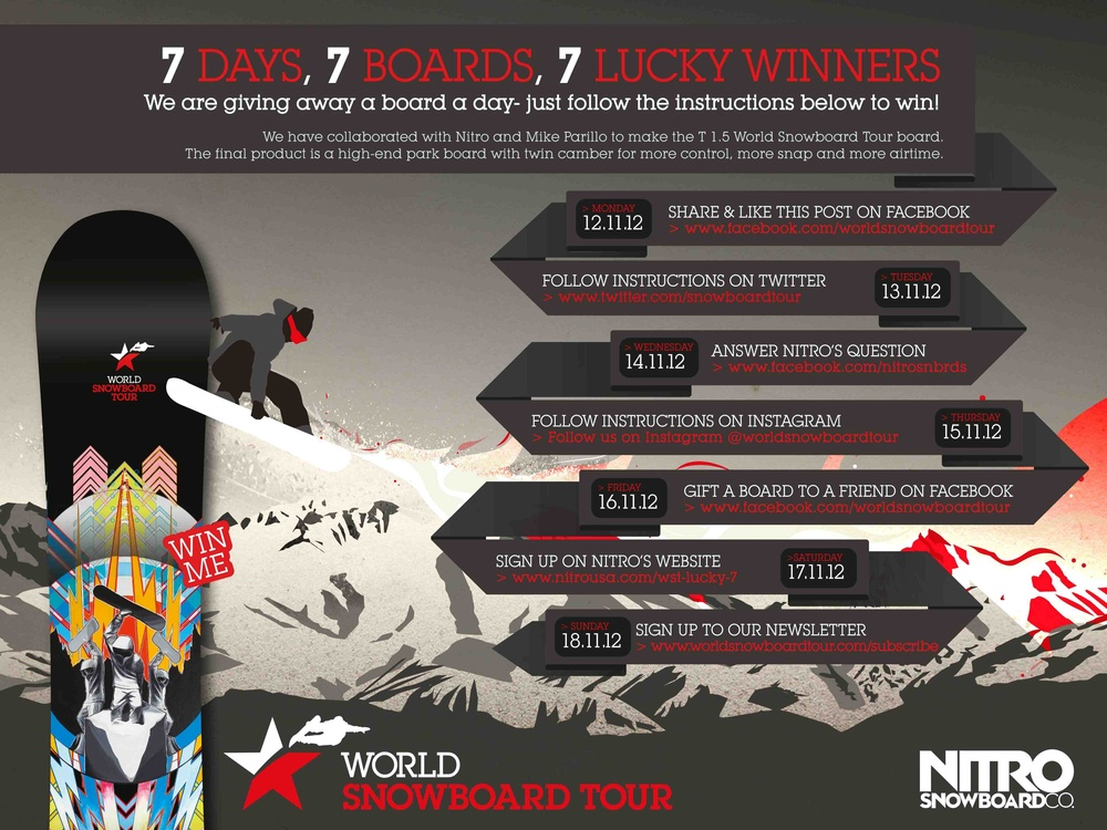 Nitro Unveils World Snowboard Tour Collab Boardsport Source