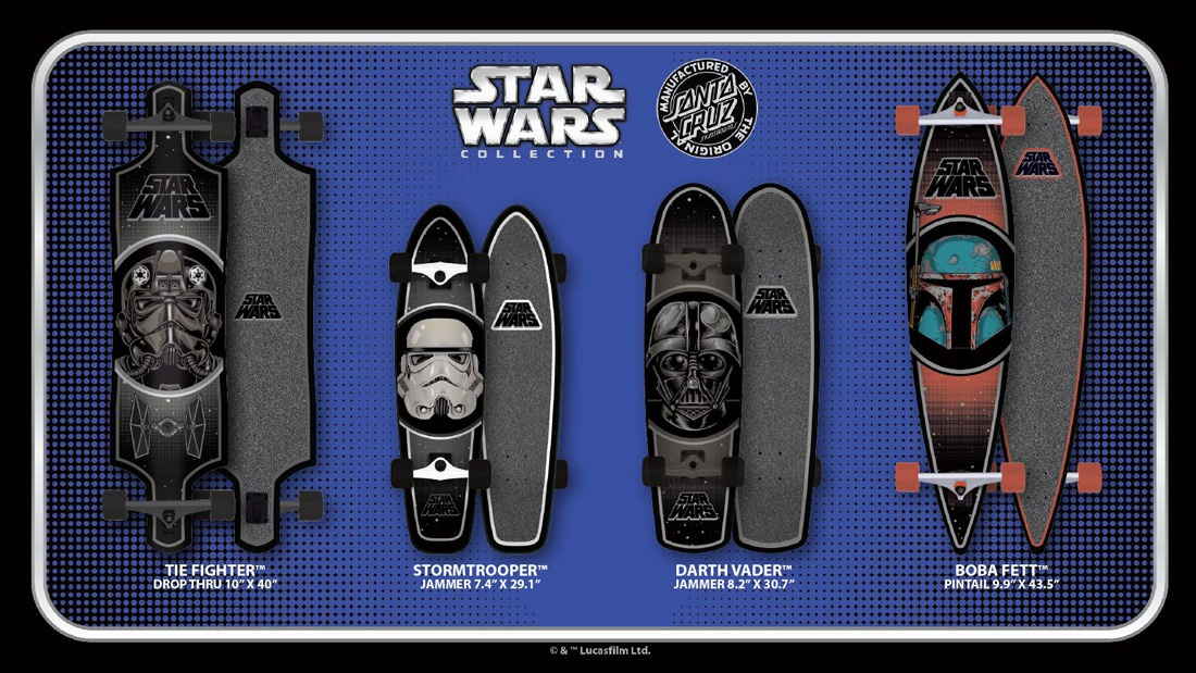 b785cf9c46b98c Santa Cruz Skateboards   Lucasfilm Ltd. Collab - Boardsport SOURCE