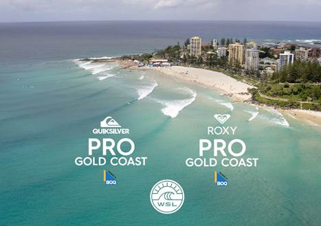 Quiksilver And Roxy Pro Gold Coast Marks Beginning Of New Wsl Season