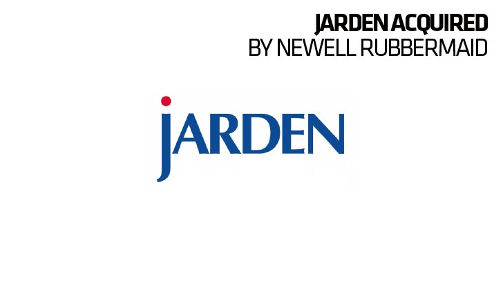 Jarden acquired by newell rubbermaid boardsport source for Jarden newell
