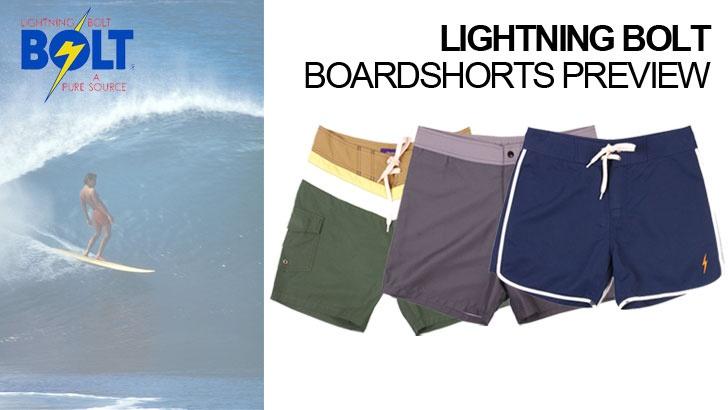 Lightning Bolt SS13 boardshort preview