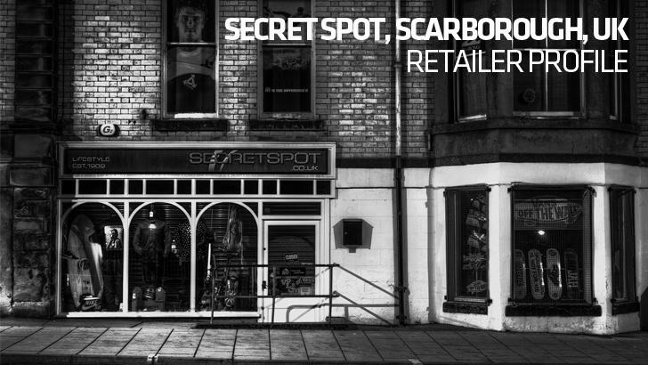 Retailer Profile: Secret Spot, Scarborough, UK