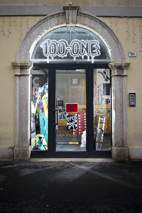 100 ONE Freeride Shop, Trentino, Italy