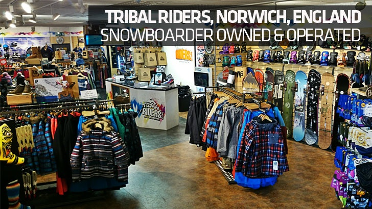 Tribal Riders, Norwich – Snowboarder Owned & Operated
