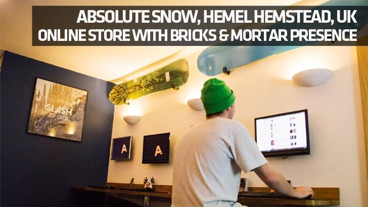 Retailer Profile – Absolute Snow, Hemel Hemstead. Online Store With Bricks & Mortar Presence