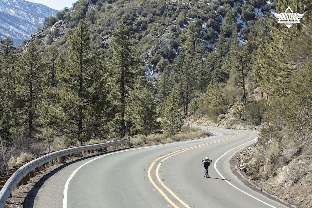 Dusters Keen Downhill