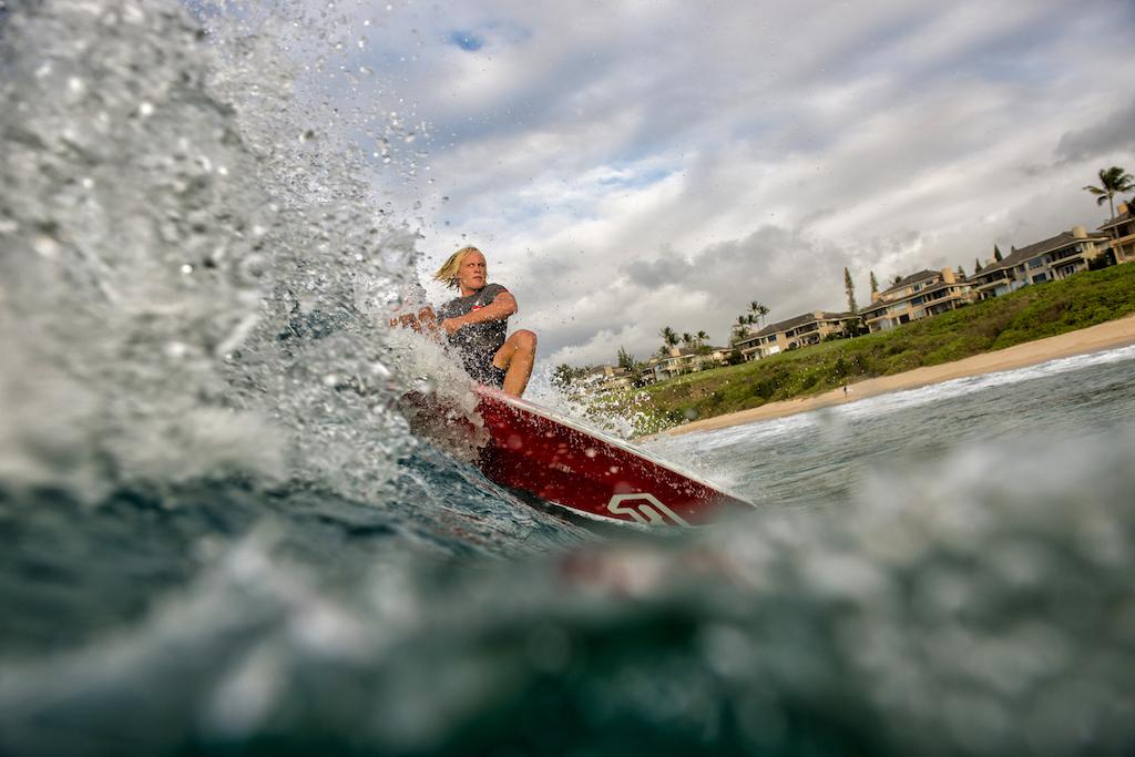 Kai Bates using the Pro Wave