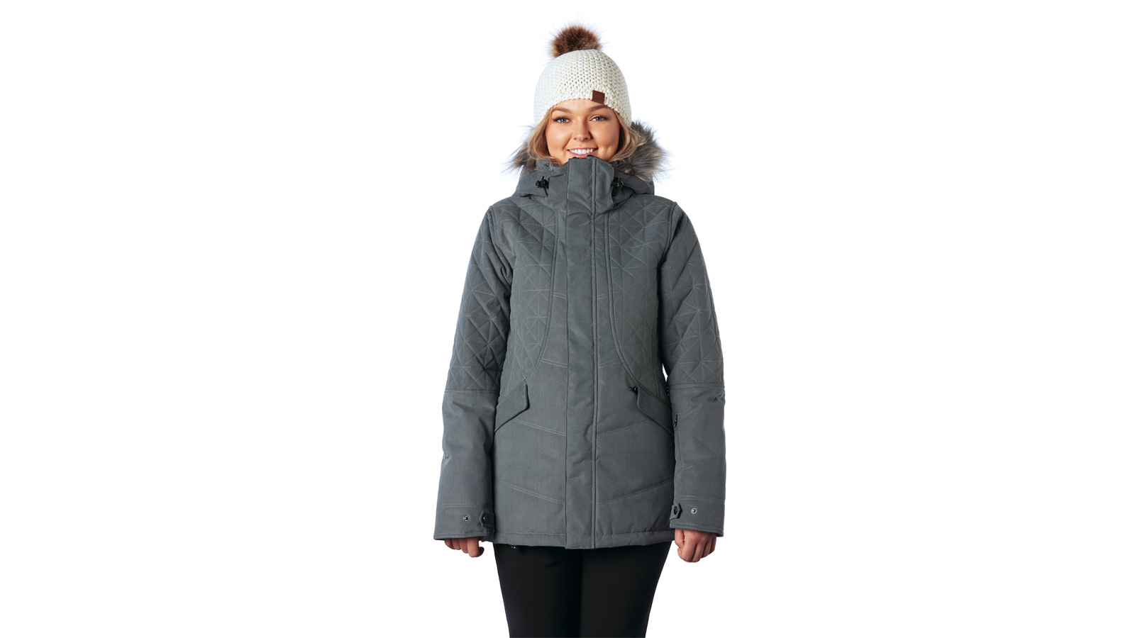 Garnet Jacket Charcoal