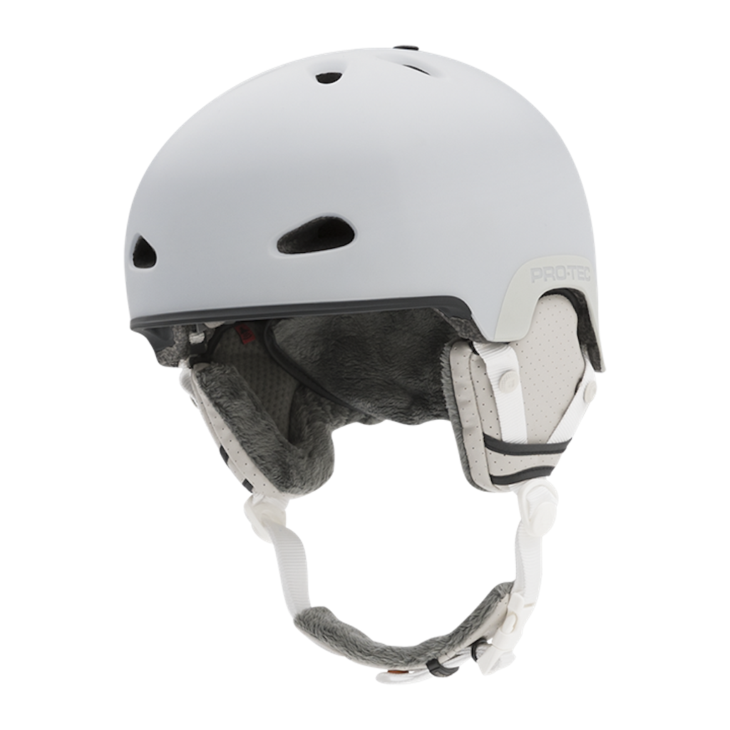Pro-tec Snow Commander Helmet in Matte White