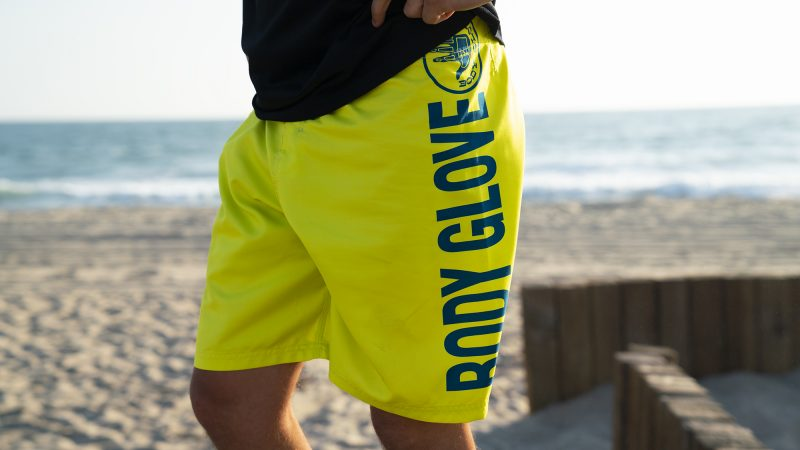 BGA Mens Moneyshot Boardshort Lime