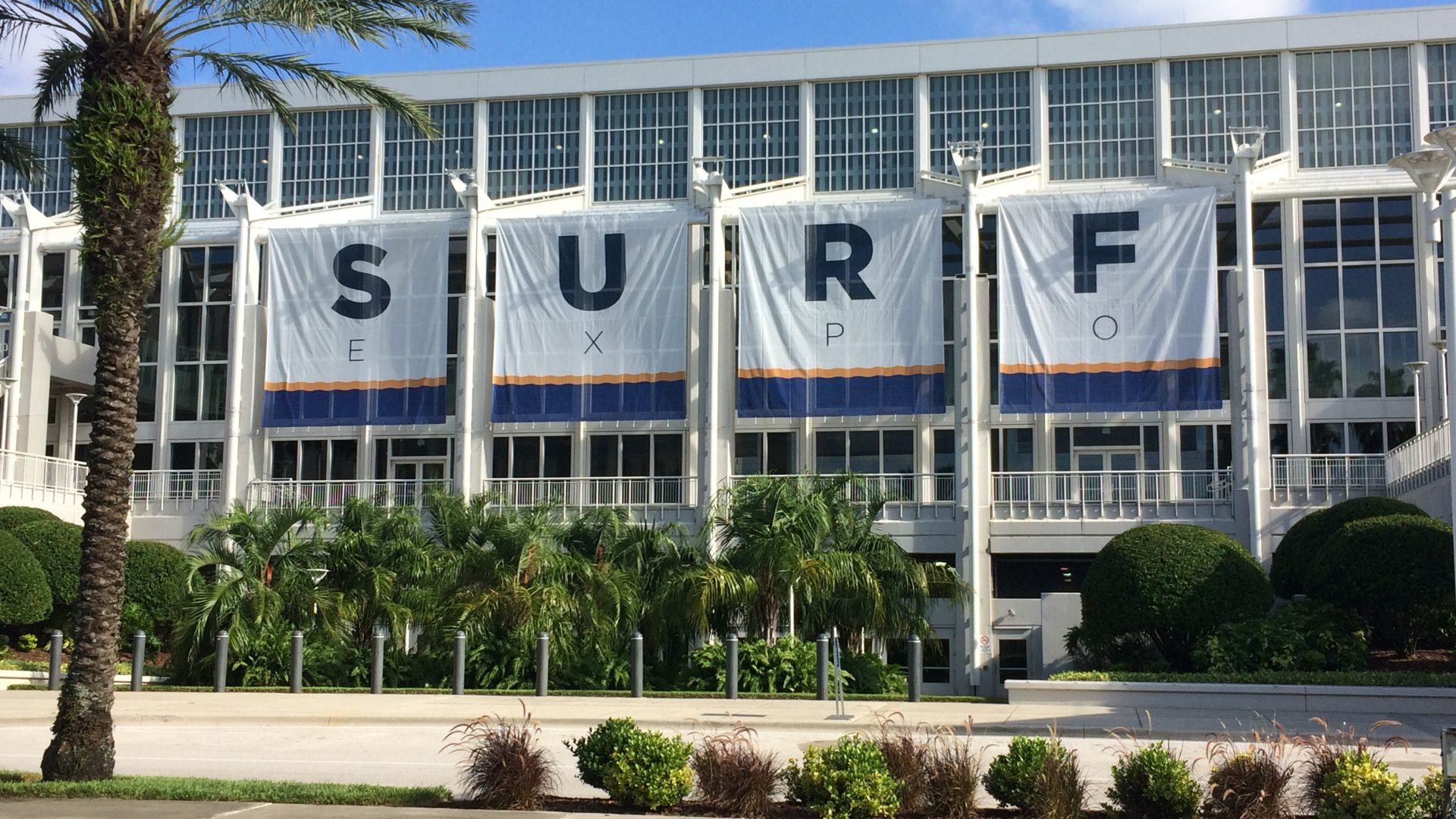 1 Surf Expo took place inside its regular venue Orange County Convention Center In Orland Florida