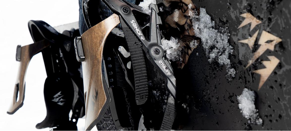 jones snowboard bindings