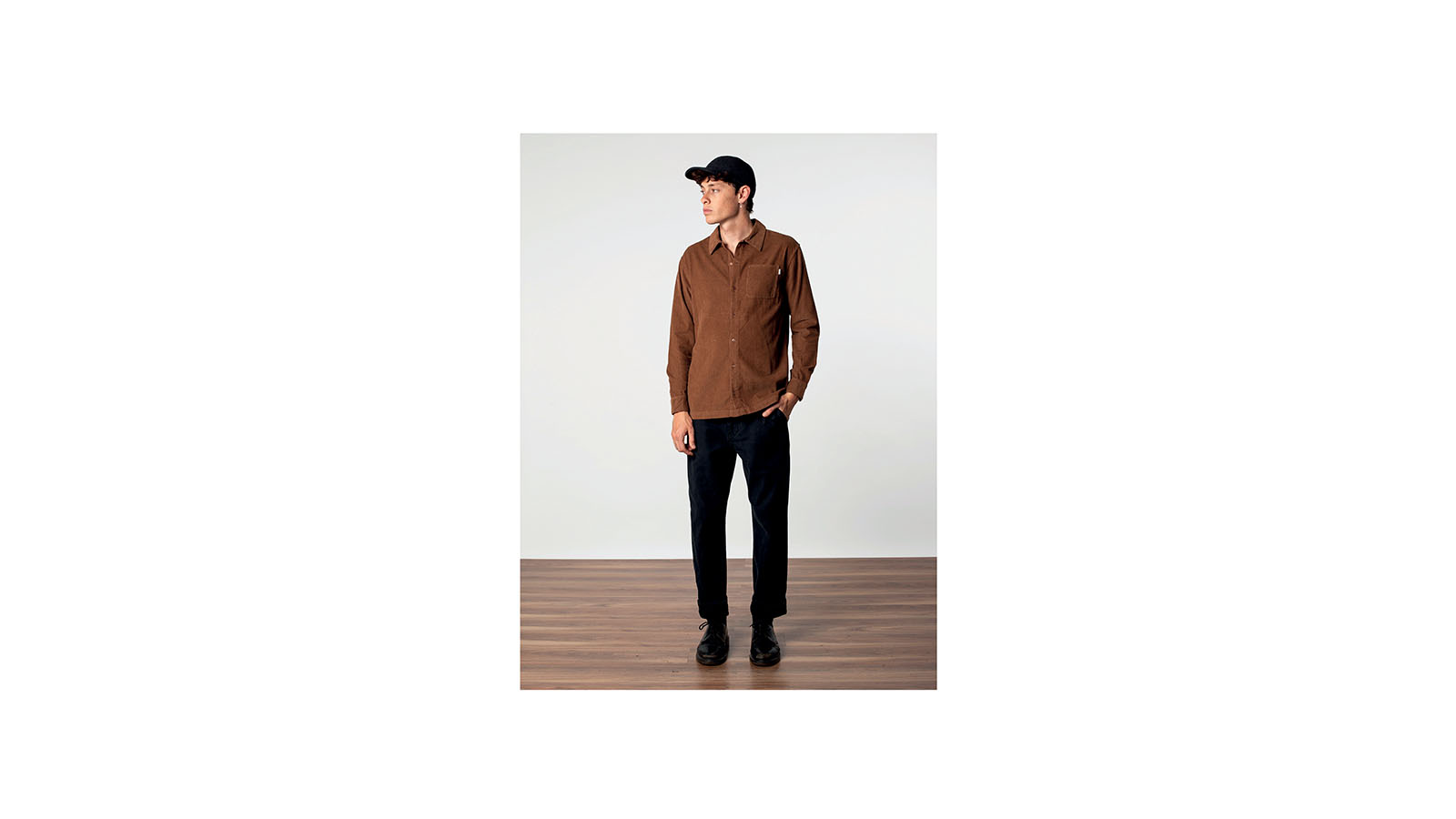 Rhythm__0003_Corduroy LS Shirt_Almond
