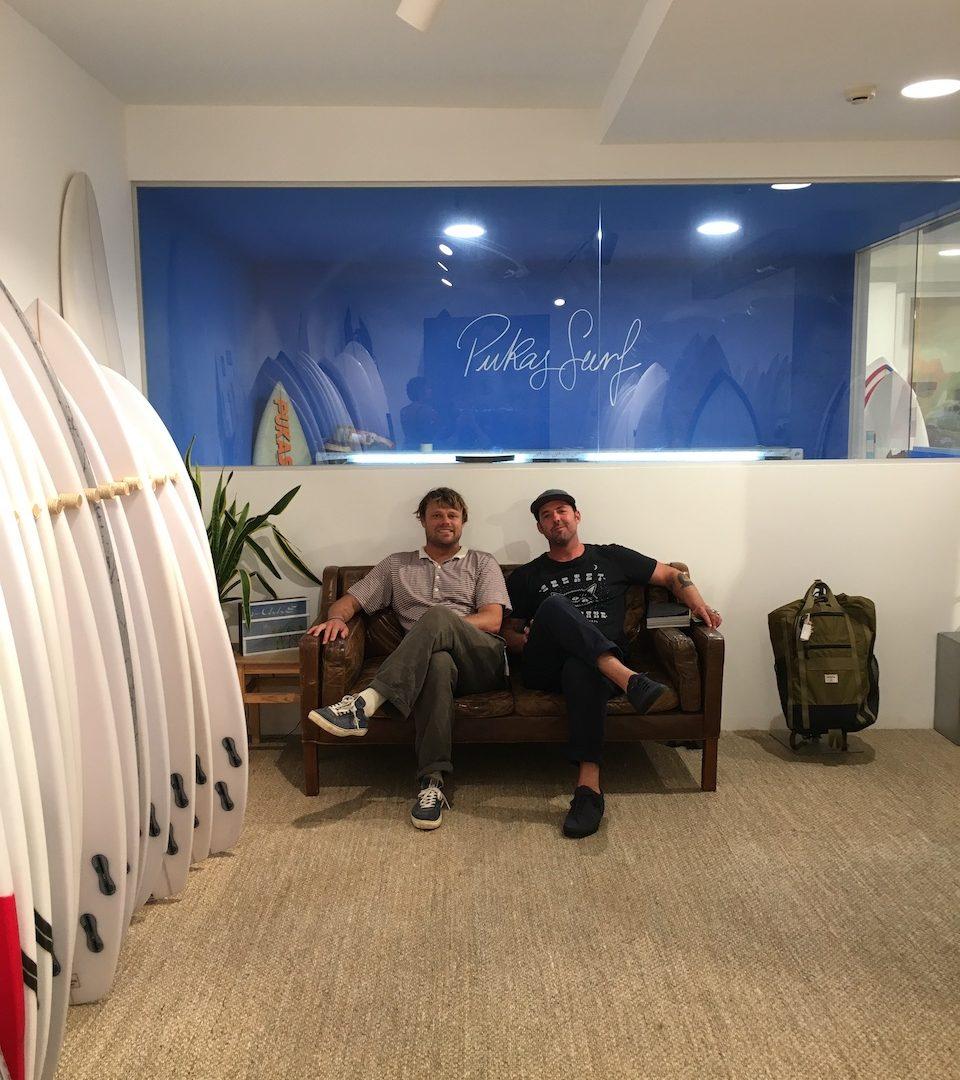 Pukas Surf Shop Zarautz 02 with Dane Reynolds