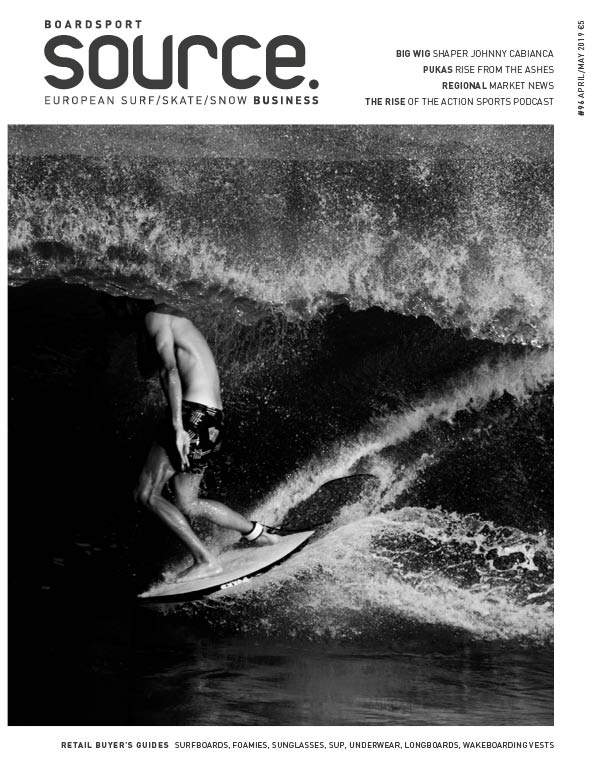 On the cover: Pukas' Adur Letamendia surfing the Pukas Pegaso by Chris Christenson. Photo by Carles Medina.