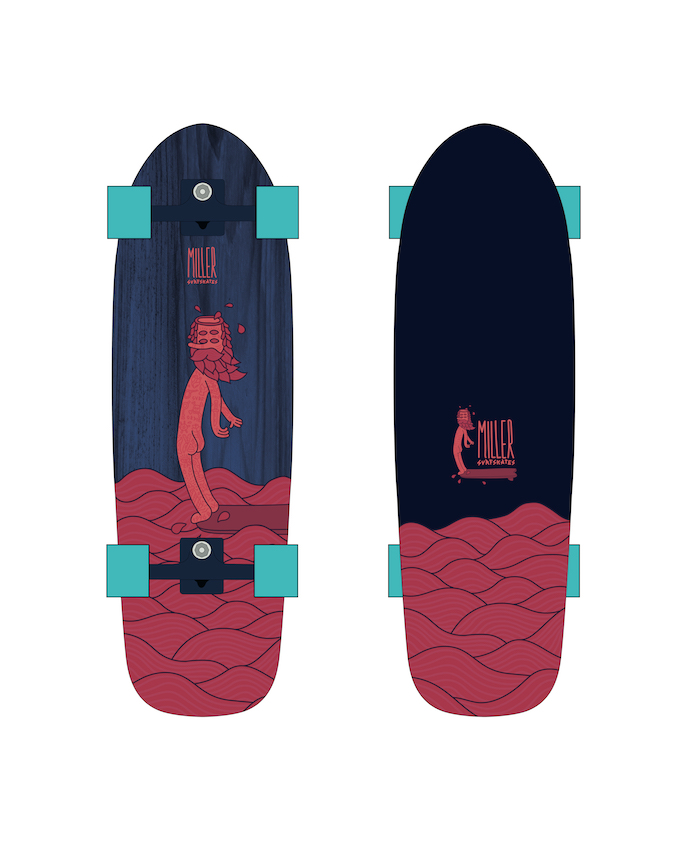 Miller Division SS20 Surfskate Preview