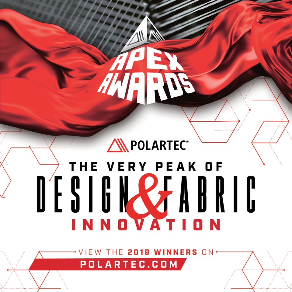 Polartec Apex Awards 2019 Product