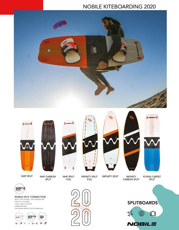 98 Nobile Kite board