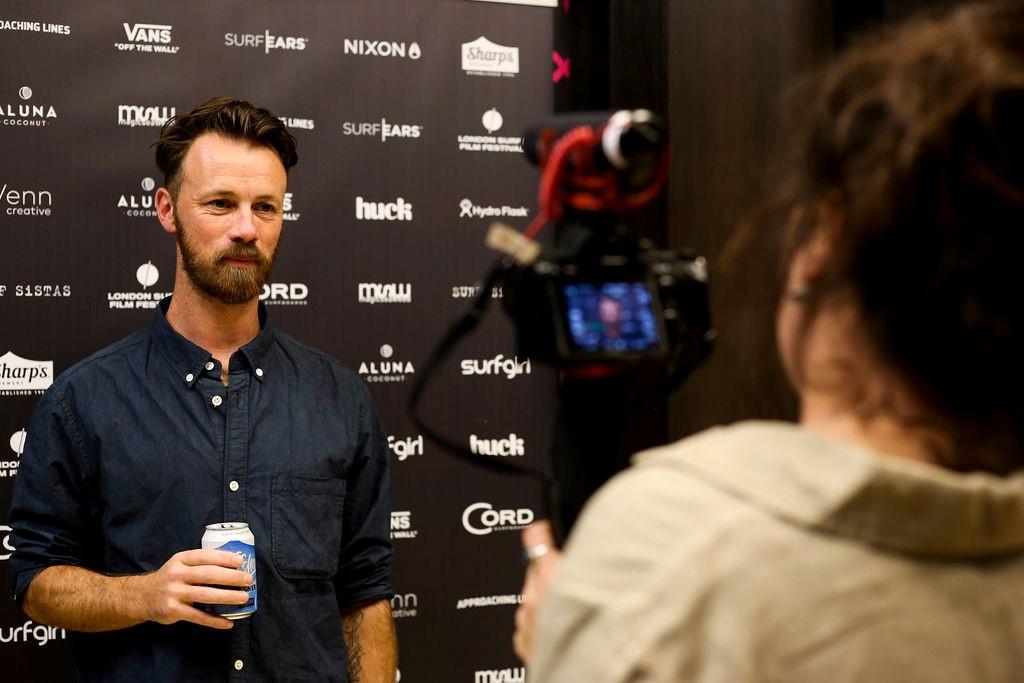 Award Winning Director Chris McClean Caught On Camera by fimmaler Jade Sellick