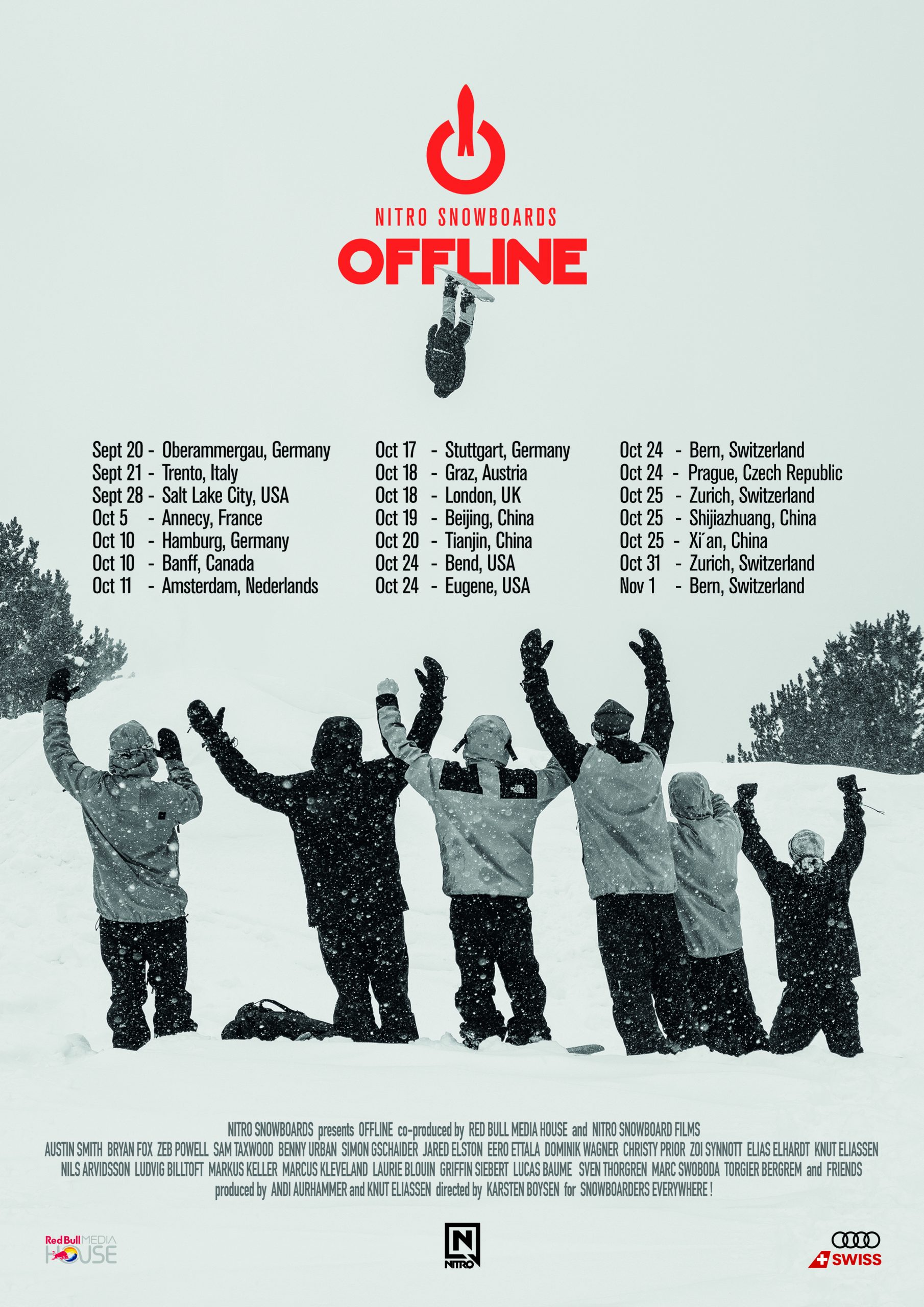 Offline Nitro Snowboards Movie Red Bull Interview Snowboarding