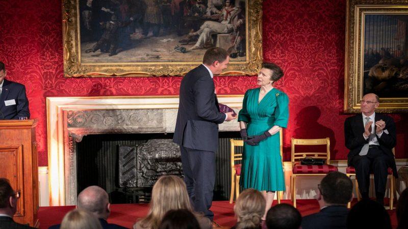 Snow Camp recieves award from HRH Princess Royal