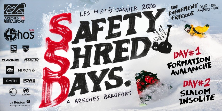Safety Shred Days Poster
