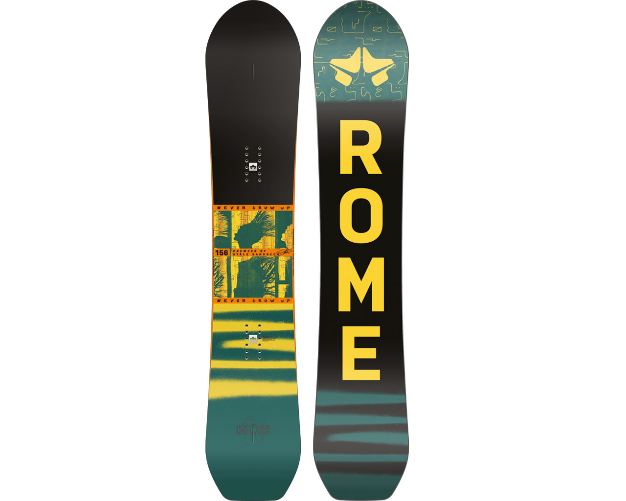 Rome Snowboards FW20/21 Snowboard Preview