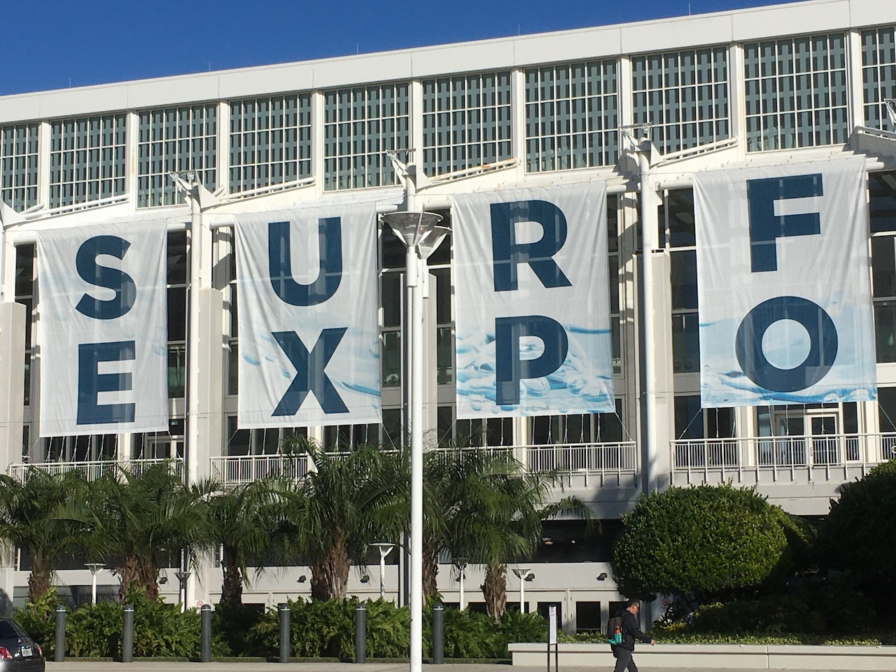 1 Surf Expo is held at the Orange County convention center in Orlando