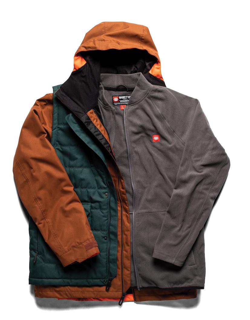 686 FW20/21 Men's Outerwear Preview