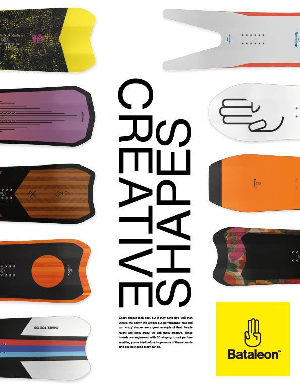 100 Bataleon snowboards
