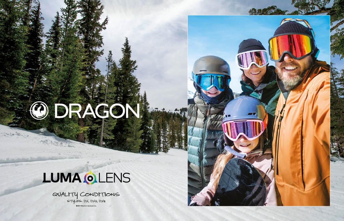 100 Dragon goggles